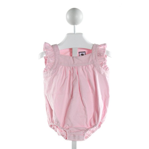 BUSY BEES  PINK CORDUROY   BUBBLE WITH RUFFLE