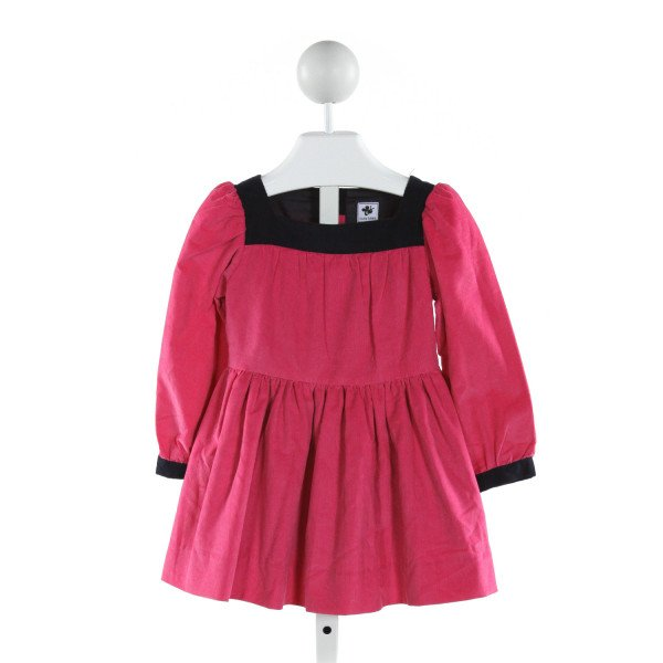 BUSY BEES  PINK CORDUROY   DRESS
