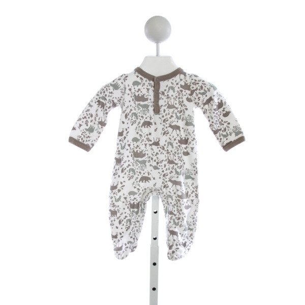 MUD PIE  IVORY   PRINTED DESIGN LAYETTE