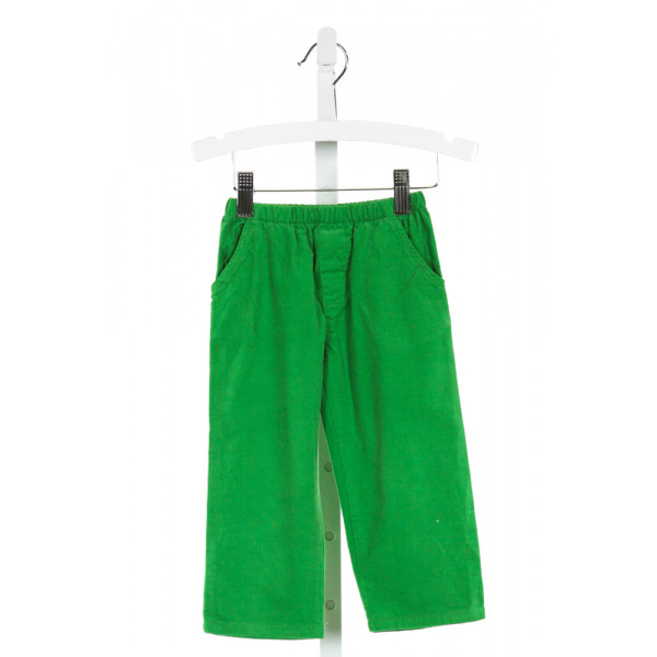 BAILEY BOYS  GREEN CORDUROY   PANTS