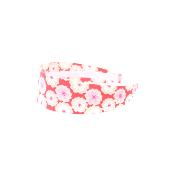 LOLO PINK LIBERTY FLORAL WIDE HEADBAND