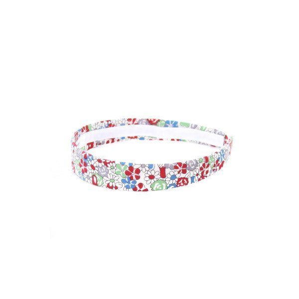 LOLO RED AND BLUE LIBERTY FLORAL SKINNY HEADBAND
