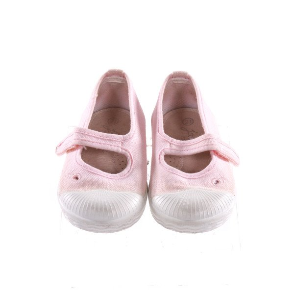 JACADI PINK SHOES *SIZE 5.5, VGU - SOME DISCOLORATION