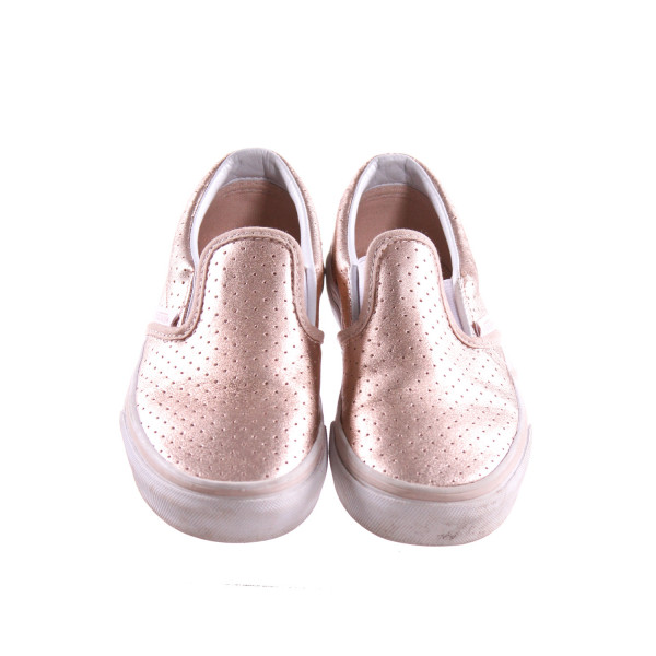 ROSE GOLD VANS *SIZE 13, VGU - VERY MINOR DISCOLORATION AND LIGHT SCUFFING