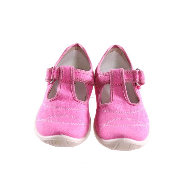 NATURINO PINK SHOES WITH VELCRO STRAP *SIZE 32  = APPROX 1.5, EUC
