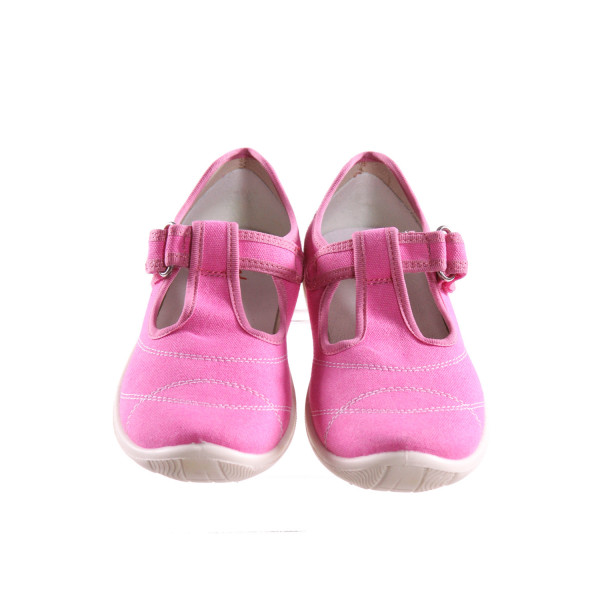 NATURINO PINK SHOES WITH VELCRO STRAP *SIZE 31  = APPROX 13, EUC