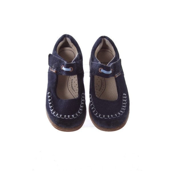 PEDIPED NAVY SUEDE SHOES TODDLER SIZE 9.5 *LIGHT WEAR