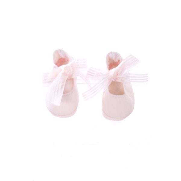 BABY DEAR LIGHT PINK SOFT SHOES WITH PINK BOWS INFANT SIZE 1