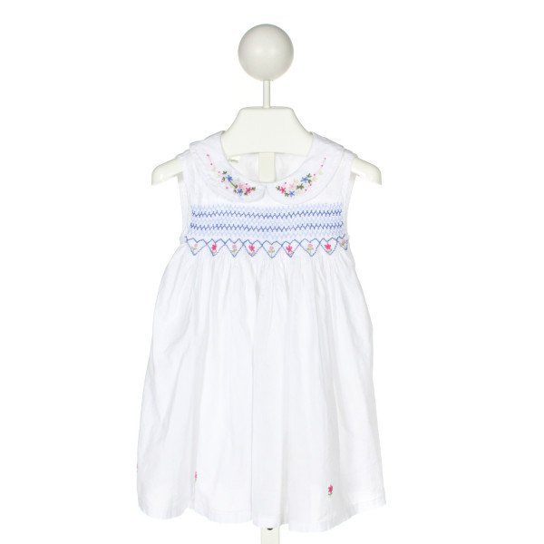 BLUE ELEPHANT  MULTI-COLOR   SMOCKED DRESS
