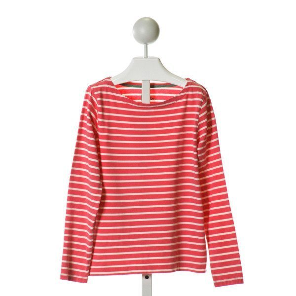 MINI BODEN  HOT PINK  STRIPED  KNIT LS SHIRT