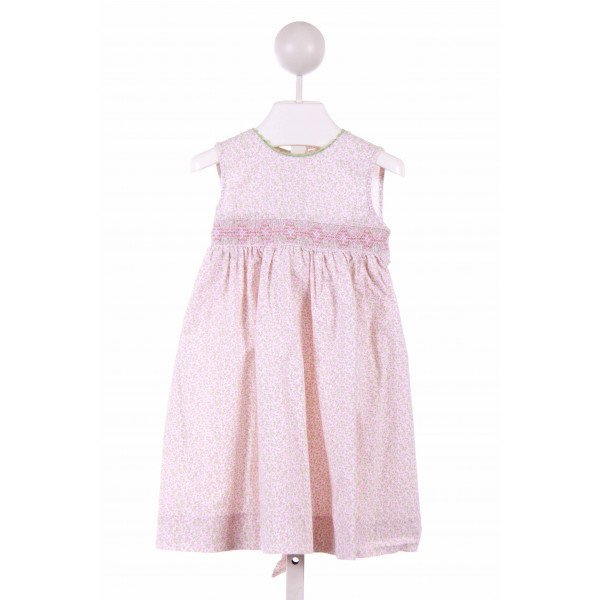 COLLECTION BEBE  LT PINK  FLORAL  CASUAL DRESS