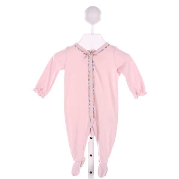 BURBERRY  LT PINK    LAYETTE WITH RUFFLE