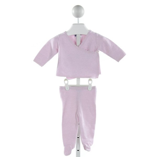 JACADI  PURPLE    2-PIECE OUTFIT
