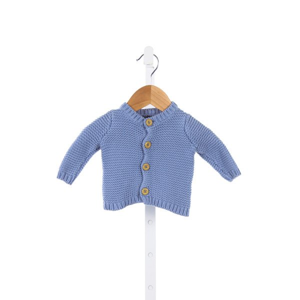 BABY GAP BLUE SWEATER *SIZE PRE(UP TO 7LBS)