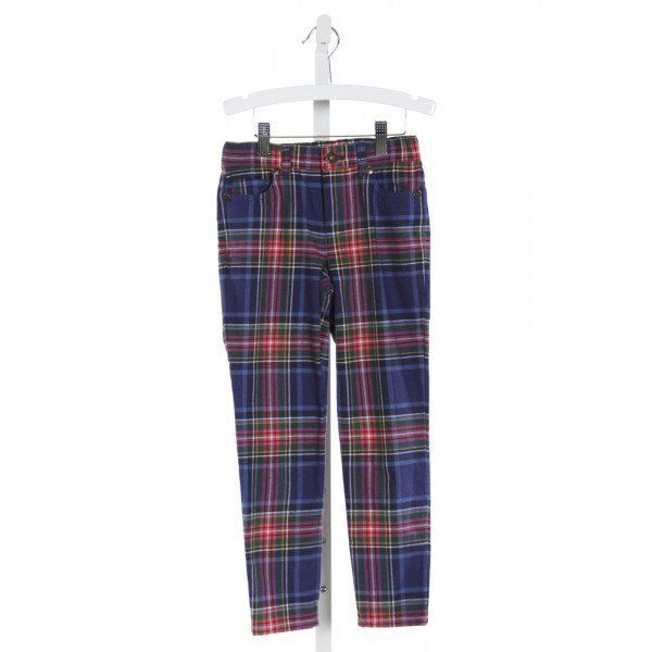 JOHNNIE-B  BLUE  PLAID  PANTS