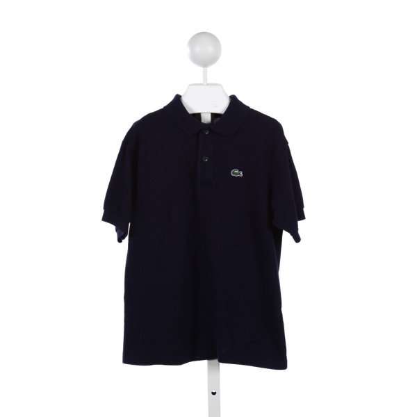 LACOSTE NAVY POLO SHIRT *SIZE 12, BUT RUNS SMALLER LIKE A 10