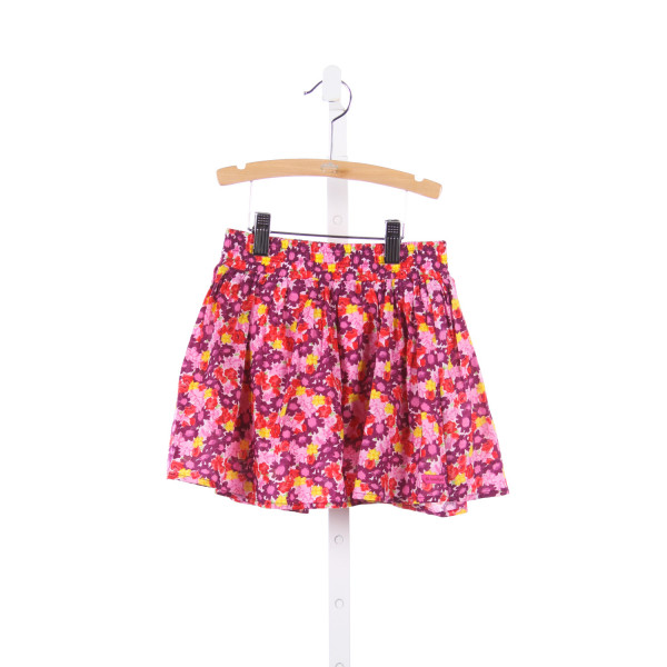 AMERICAN GIRL PINK, PURPLE AND RED FLORAL SKIRT