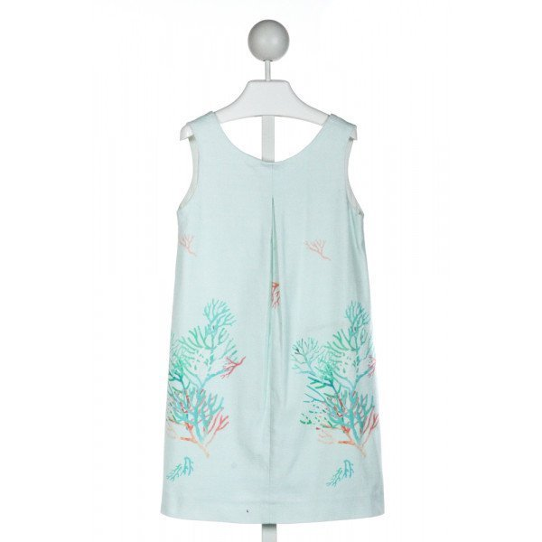 ZARA  AQUA   PRINTED DESIGN DRESS