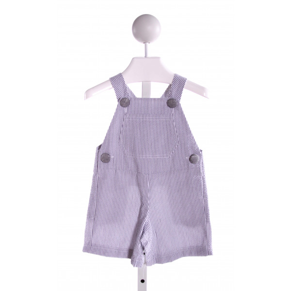 HANNAH KATE  GRAY SEERSUCKER STRIPED  JOHN JOHN/ SHORTALL