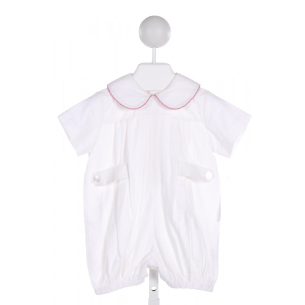 LULLABY SET  WHITE CORDUROY   JOHN JOHN/ SHORTALL