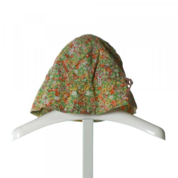 BONPOINT  GREEN  FLORAL  ACCESSORIES - HEADWEAR
