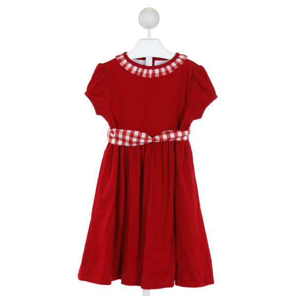 BAILEY BOYS  RED CORDUROY   DRESS