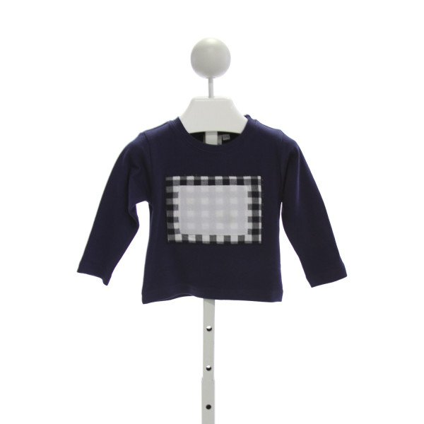 SWITCH-A-ROO  NAVY    KNIT LS SHIRT