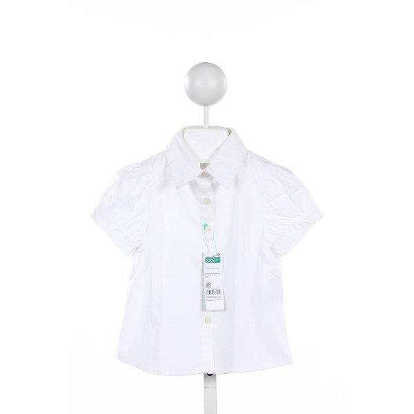UNITED COLORS OF BENETTON WHITE TOP *SIZE 3/4