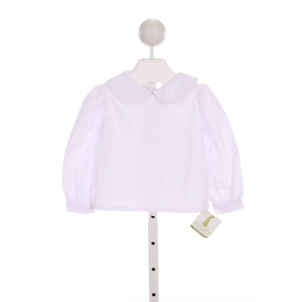 ZUCCINI  WHITE    CLOTH LS SHIRT