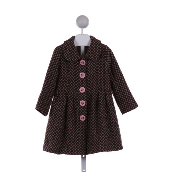 WIDGEON  MULTI-COLOR WOOL   WINTER COAT