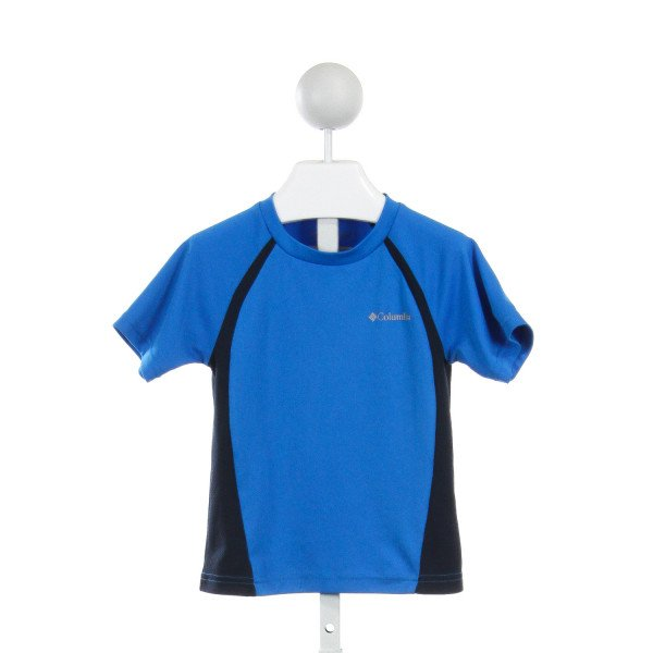 COLUMBIA  ROYAL BLUE    CLOTH SS SHIRT