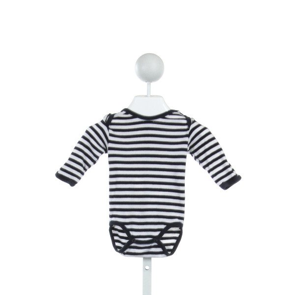 UNDER THE NILE  NAVY  STRIPED  LAYETTE