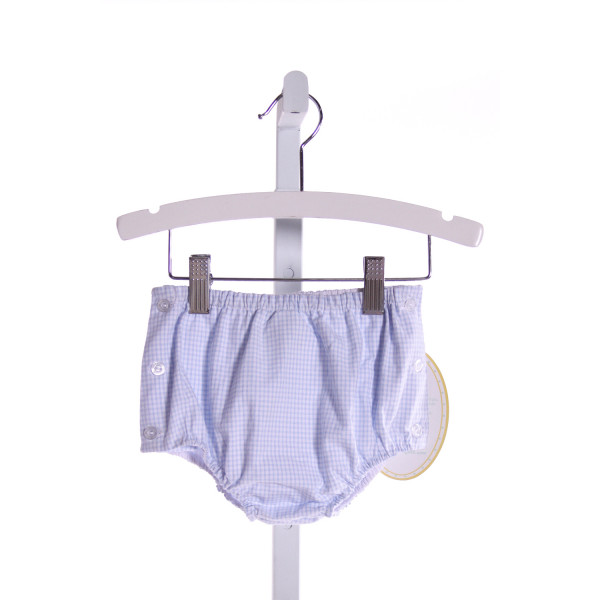 LITTLE ENGLISH  LT BLUE  GINGHAM  BLOOMERS