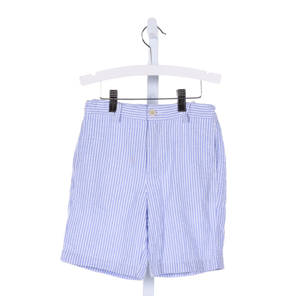 VINEYARD VINES  LT BLUE SEERSUCKER STRIPED  SHORTS