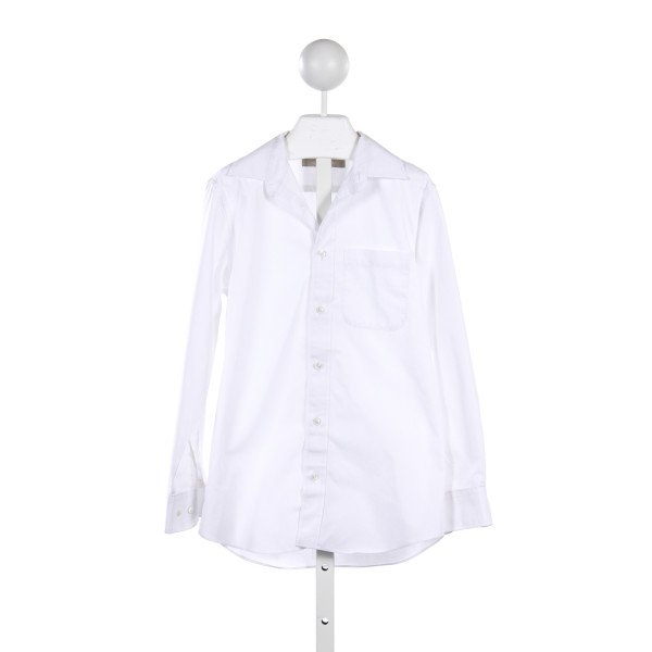 NORDSTROM WHITE OXFORD TOP