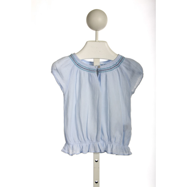 JACADI LIGHT BLUE PEASANT TOP
