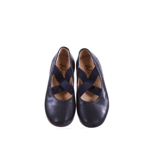 NATURINO NAVY FLATS TODDLER SIZE 9 (EU SIZE 25) *VGUC (LIGHT SCUFFING ON TOES)