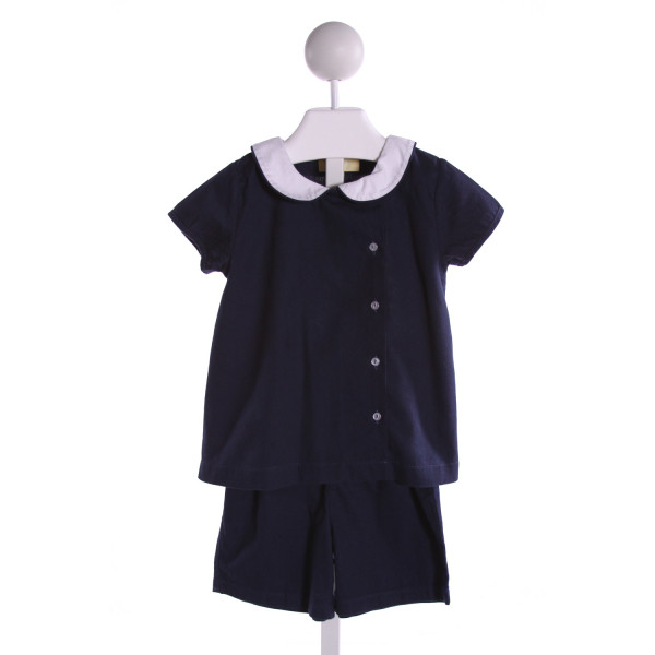 PIXIE LILY  NAVY CORDUROY   2-PIECE OUTFIT