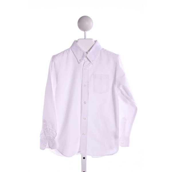 KITESTRINGS  WHITE    CLOTH LS SHIRT