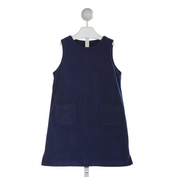 KATE & LIBBY  ROYAL BLUE CORDUROY   DRESS