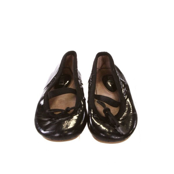 BLOCH'S BLACK BALLET FLATS *SIZE 7, VGU - MINOR SCUFFING