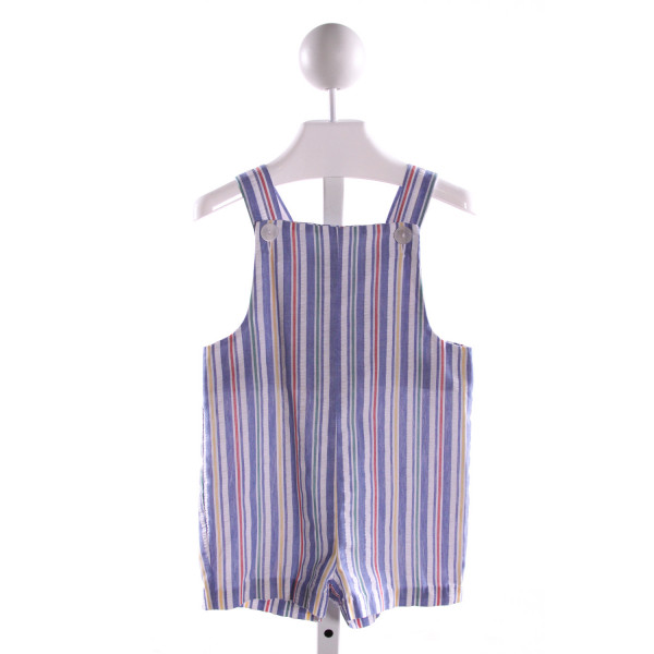 IMP  MULTI-COLOR SEERSUCKER STRIPED  JOHN JOHN/ SHORTALL