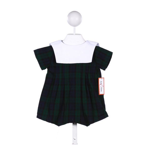 JACK & TEDDY WITCH TARTAN BUBBLE WITH WHITE COLLAR