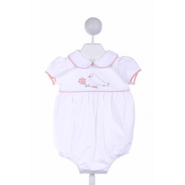 DONDOLO  WHITE   EMBROIDERED BUBBLE