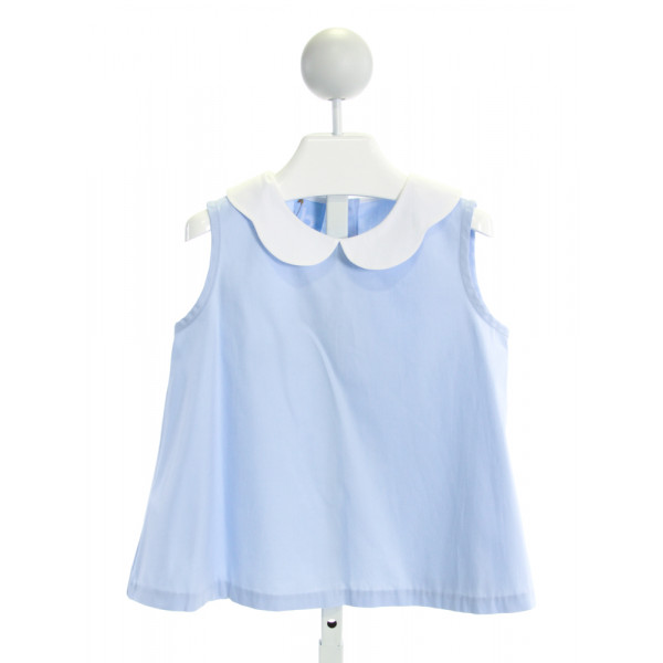 BELLA BLISS  LT BLUE    CLOTH SS SHIRT