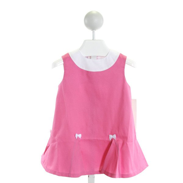 SIMI BABY  HOT PINK    DRESS WITH RUFFLE