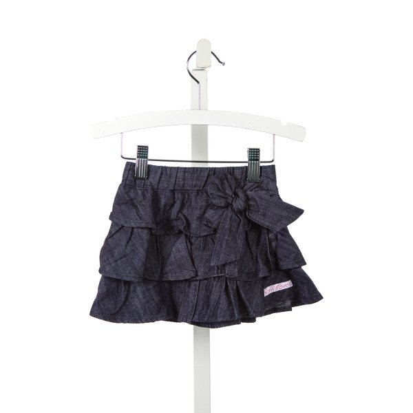 RUFFLE BUTTS DENIM RUFFLE SKIRT *SIZE 12-18M
