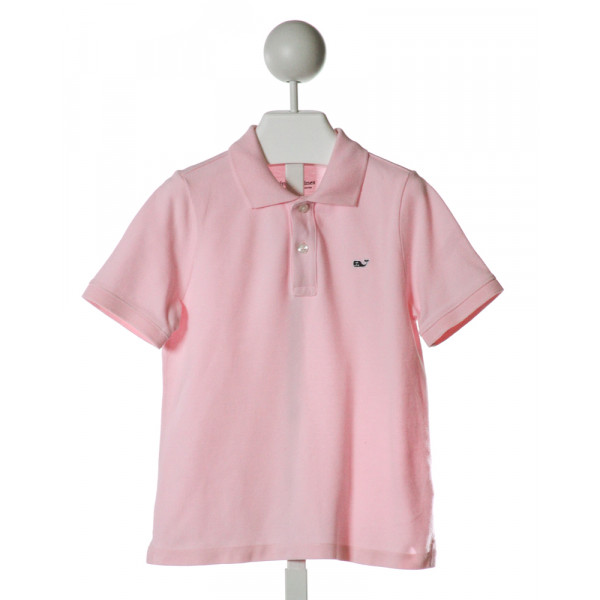 VINEYARD VINES  PINK    CLOTH SS SHIRT