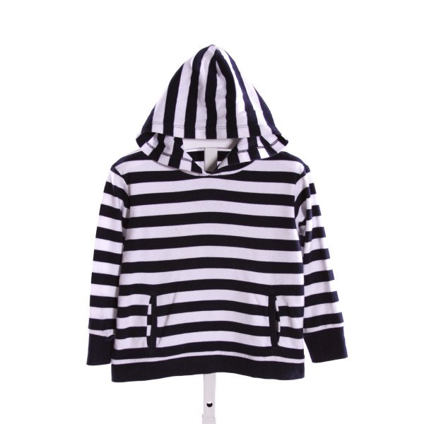 ZUCCINI  NAVY  STRIPED  KNIT LS SHIRT