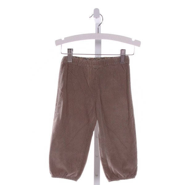 BONPOINT  BROWN CORDUROY   PANTS
